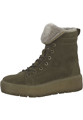 TAMARIS 1 26265 21 722 Damen Olive Oliv Stiefelette Lace Up