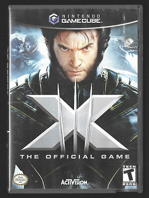 X-Men: The Official Game (Game Cube) 2006 Nintendo good condition CIB complete