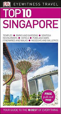 Top 10 Singapore (DK Eyewitness Travel Guide) Free pull-out map FREE DELIVERY