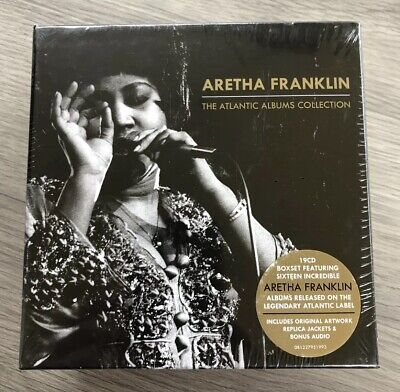 Aretha Franklin : The Atlantic Albums Collection CD Box Set 19 discs - Sealed