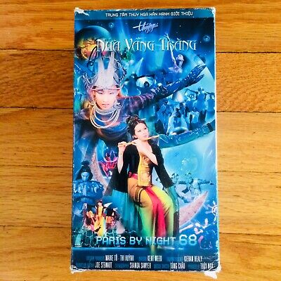 Paris By Night 68 NUA VANG TRANG - Vietnamese Music VHS Thuy Nga - 2003