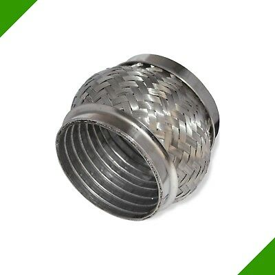 70x70 VW Ø 70 2 3/4in Stainless Steel Flexible Pipe Exhaust Pipe Tube Flex Piece