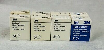 40 Crowns 3M Dental Iso-Form 8 Refill Boxes Assorted Sizes $7.38 per box