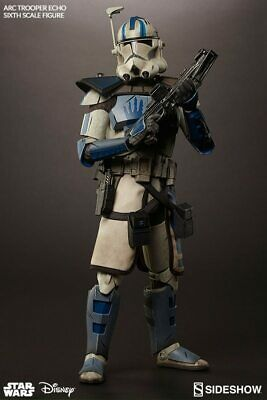 Sideshow Star Wars Arc Clone Trooper Echo Phase Ii Armor 1/6 Scale New