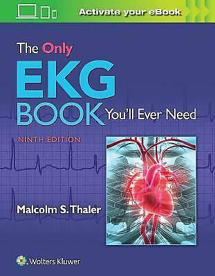 The Only EKG Book You'll Ever Need (E-book) {PDF}⚡Fast Delivery(10s)⚡
