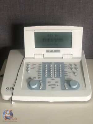 GSI Viasys Grason-Stadler 61 Clinical 2-Channel Audiometer Hearing Aid Tester
