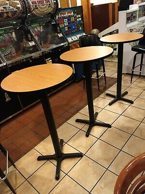 3 24 Inch Bar Tables, Brand New- Excellent Condition