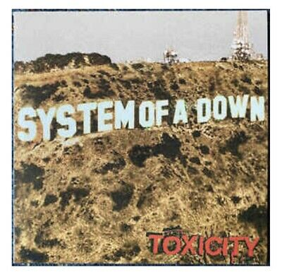 System Of A Down Autographed / Signed Toxicity Cd Promotional Poster - Framed!!!