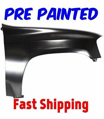 New PRE PAINTED Passenger RH Fender for 2002-2009 GMC Envoy w Free TouchUp