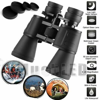 Outdoor 180x100 Zoom Telescope Day Night Vision Travel Binoculars Hunt + Case US