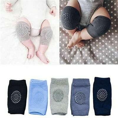 5 Pairs Non Slip Crawling Elbow Protector for Baby Toddler Safety Knee Pad - US