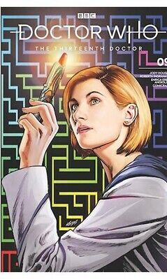 Doctor Who The Thirteenth 13th Doctor #9 2019 SDCC Exclusive cover comic book