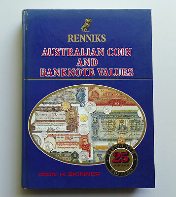 1989 RENNIKS Australian Coin and Banknote Values catalogue collecting tokens