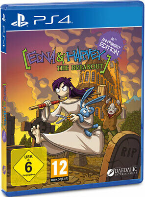 Sony PS4 Playstation 4 Spiel Edna & Harvey: Breakout NEU NEW 55
