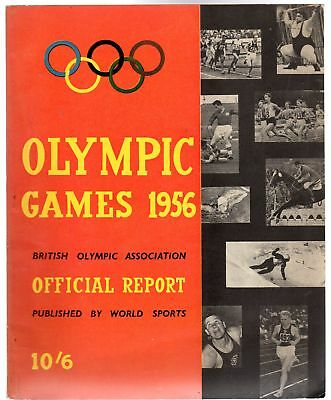 British Olympic Assocation, Official Report of the Olympic Games 1956, Bear, Cec