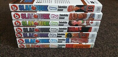 Slam Dunk Manga Bundle 1-7 Vol