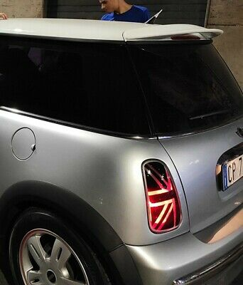 mini cooper R50 flag union jack per fanali posteriore Rear tail lights cover