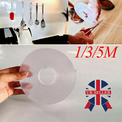 Transparent Washable Magic Tape Roll Multi-Functional Residue-Free Nano-Adhesive
