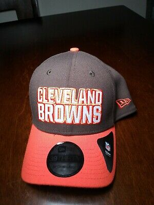 d24a7c780ea203 Cleveland Browns Hat NFL Sideline Cap New Era Flex Fit 39THIRTY Brown