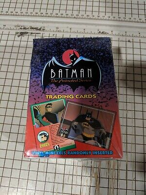 Topps 1993 Batman The Animated Series Trading Cards Factory Sealed Box