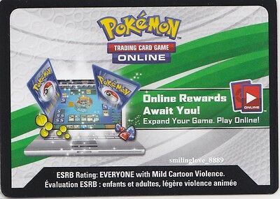 1x POKEMON CARD GAME XY EVOLUTIONS (Online Booster Pack) - UNUSED TCGO CODE ONLY