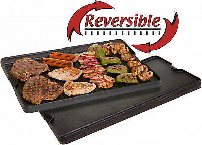 Cast Iron Griddle Grill Reversible Combo Pre Seasoned Camp Chef Camping Cooking