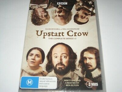 UPSTART CROW the complete series 1-3 DVD R4 NEW/SEALED