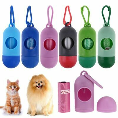 Poop Bag Carrier Outdoor Portable Garbage Bags For Dogs Cat Pet Accessories Tool