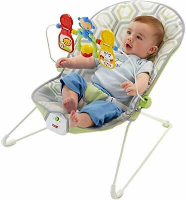 Fisher-Price Deluxe Bouncer: Geo Meadow  by Fisher-Price