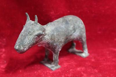 Small Animal Statue Figure Handcrafted Brass Vintage Old Antique Home Decor PX-7