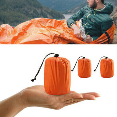 Emergency Sleeping Bag Thermal Waterproof Outdoor Survival Camping Bag PE