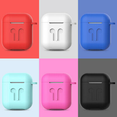 Coque AirPods Protection Etui en Silicone Anti Choc AirPod Case Housse Earbuds