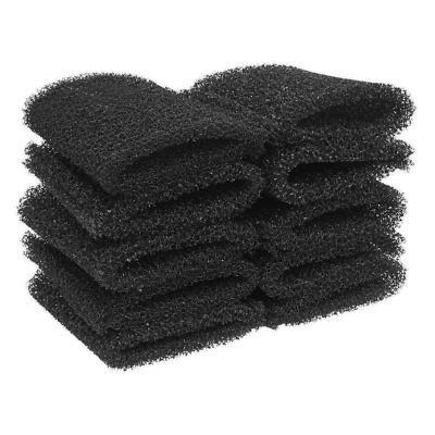 PC195SDFF10 Sealey Foam Filter for PC195SD Pack of 10 [Vacuum Cleaners]