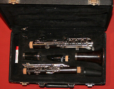 Vintage Noblet Paris clarinet with case
