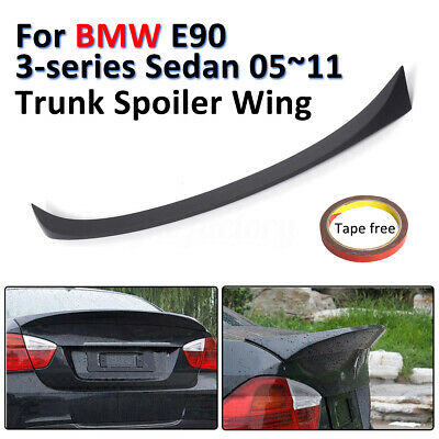 For Bmw 3 Series E90 Saloon 05-12 Rear Trunk Boot Lip Lid Spoiler M Sports Abs