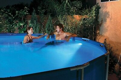 LED Pool Lampe LED Poolbeleuchtung + Fernbedienung Pool Leuchte schwimmbadlicht