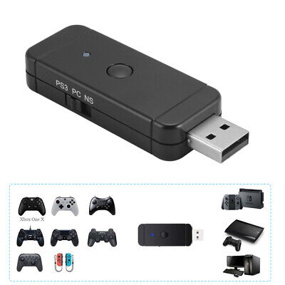 Wireless / Wired USB Game Controller Adapter for Nintendo Switch PS3 PC AC1241