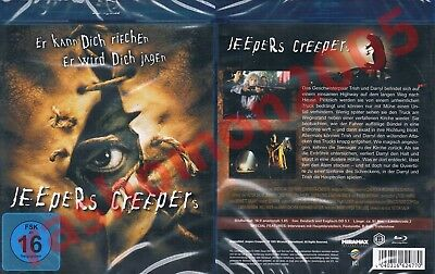 Blu-Ray JEEPERS CREEPERS 2001 Gina Philips Justin Long Cult Horror Region B NEW