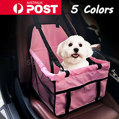 Pet Car Booster Seat Puppy Cat Dog Auto Carrier Travel Protector Safety Basket
