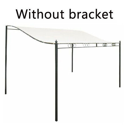 UK Metal Wall Gazebo Canopy Awning Sun Shade Marquee Shelter Door Porch 3 Sizes