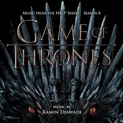 Game Of Thrones Season 8 Music from the HBO Series Ramin Djawadi GOT (NEW 2CD)