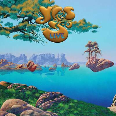 """Yes - Yes 50 Live (NEW 4 x 12"""" VINYL LP) (Preorder Out 18th July)"""