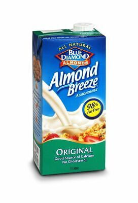 Almond Breeze Original Drink 1Ltr  (Pack of 8)