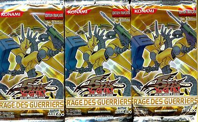 Yu Gi Oh! 3 Boosters Rage Des Guerriers