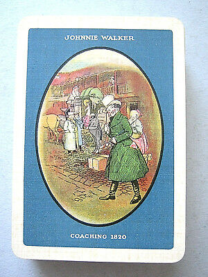 Playing Cards 1 Single Swap Card Vintage JOHNNIE WALKER Whisky DANDY MAN 5