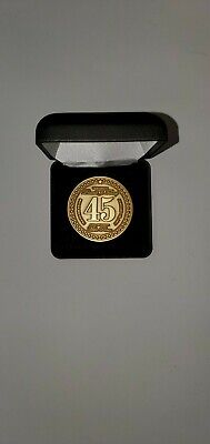 President Donald J. Trump Official 45th Inauguration Limited Edition Gold Coin