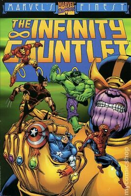 Infinity Gauntlet TPB (Marvel) 1st Edition #1-REP 1999 VG Stock Image