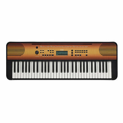 Yamaha PSRE360MA 61-Key Portable Keyboard (Maple)