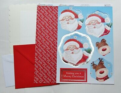 Kanban Christmas Cardmaking Kit Toppers,Card Blanks,Backing,Envs Trad A