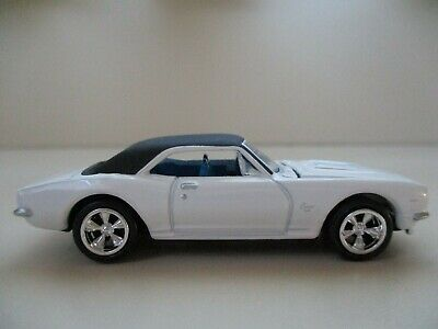 Forty Years r5-1967 Chevy Camaro-SILVER//BLACK TOP 1:64 Johnny Lightning